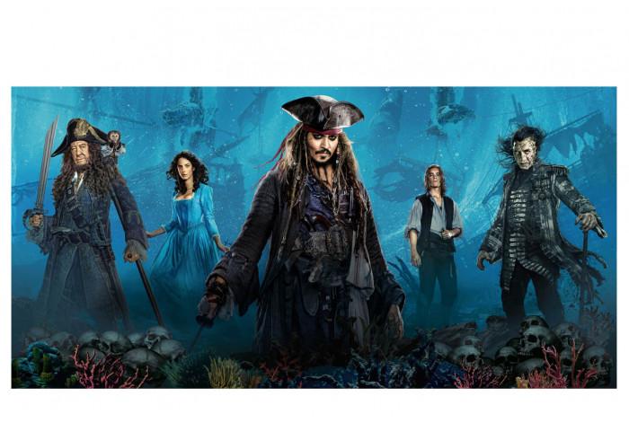 Постер Пираты Карибского моря