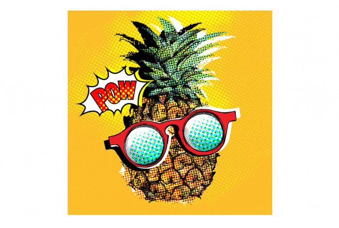 Постер Поп-арт Клевый ананас