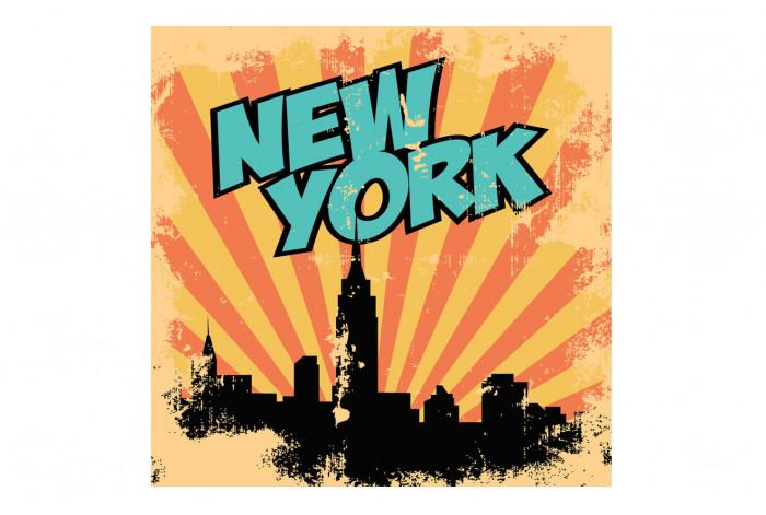 Постер Поп-арт Нью-Йорк