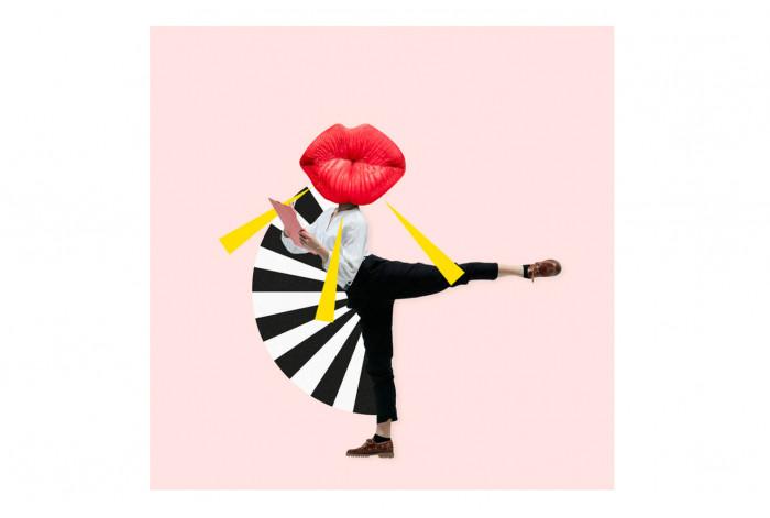 Постер Поп-арт Губки в танце